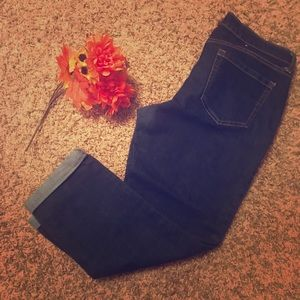 Old Navy cropped skinny jeans